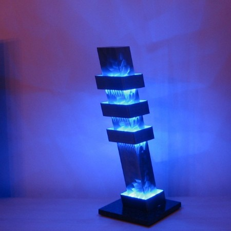 Color column pisa rvs design lamp - Joeniq