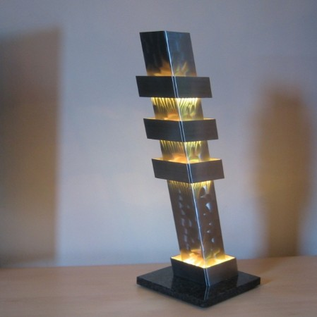 Color column pisa led design lamp - Joeniq